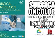 Surgical Oncology: Theory and Multidisciplinary Practice 2nd Edition PDF
