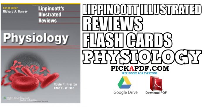 Lippincott Illustrated Reviews Flash Cards: Physiology PDF