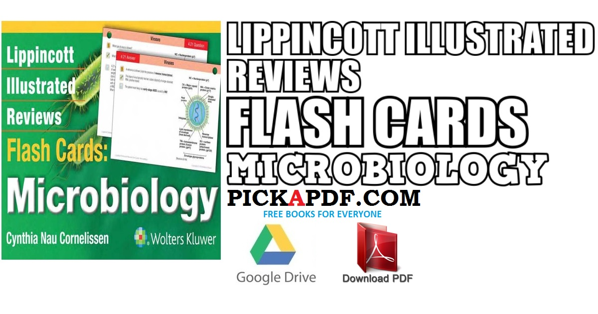 Lippincott Illustrated Reviews Flash Cards Microbiology PDF