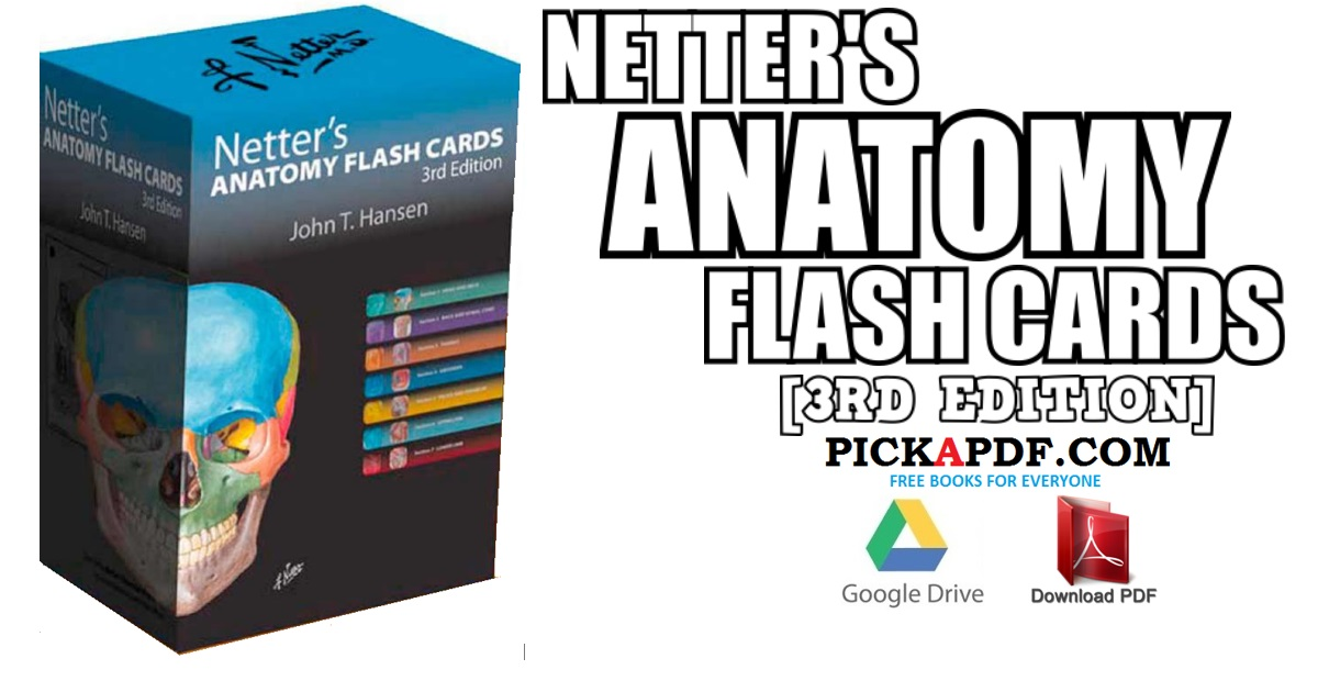 Netter\'s Anatomy Flash Cards 3rd Edition PDF Free Download [Direct Link]
