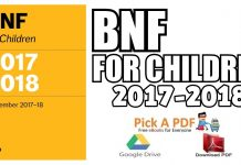 BNF for Children 2017-2018 PDF