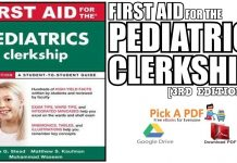 First Aid for the Pediatrics Clerkship 3rd Edition PDF