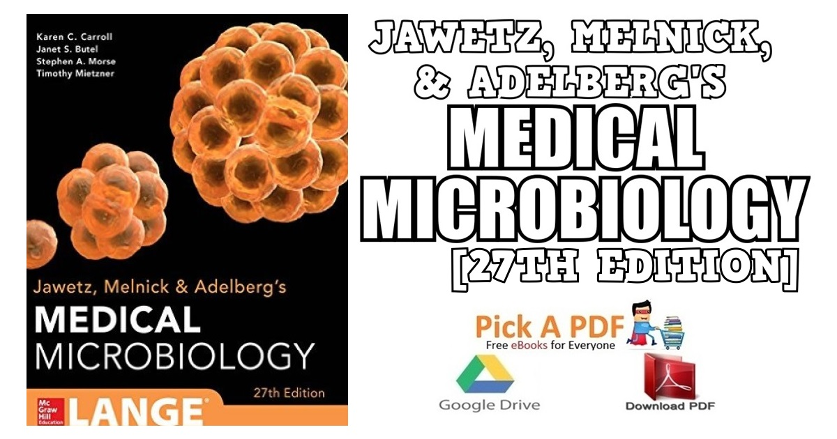 Jawetz, Melnick & Adelbergs Medical Microbiology 27th Edition PDF
