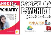 Lange Q&A Psychiatry 11th Edition PDF
