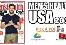 Men's Health USA – September 2018 PDF