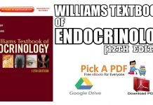Williams Textbook of Endocrinology PDF