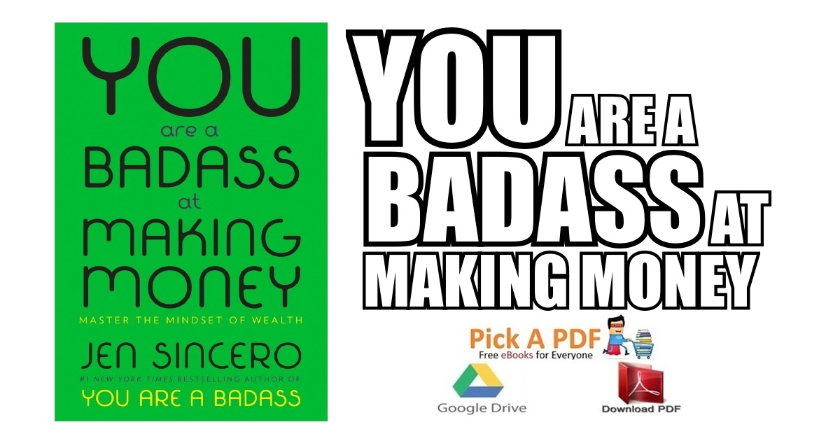You Are A Badass At Making Money Pdf Free Download Direct Link