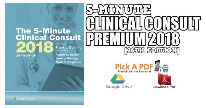 5-Minute Clinical Consult Premium 2018 PDF