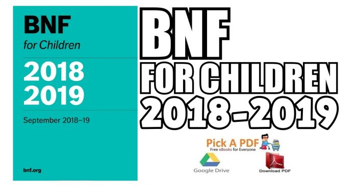 BNF for Children (BNFC) 2018-2019 PDF