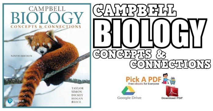 Campbell Biology: Concepts & Connections 9th Edition PDF