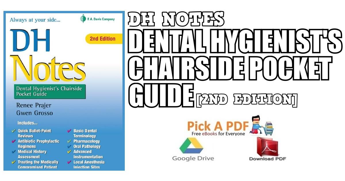 DH Notes: Dental Hygienist's Chairside Pocket Guide 2nd Edition PDF