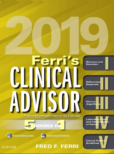 Ferri's Clinical Advisor 2019: 5 Books in 1 PDF