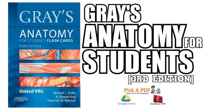 Gray's Anatomy for Students 3rd Edition PDF