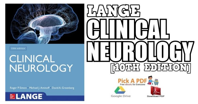 Lange Clinical Neurology 10th Edition PDF
