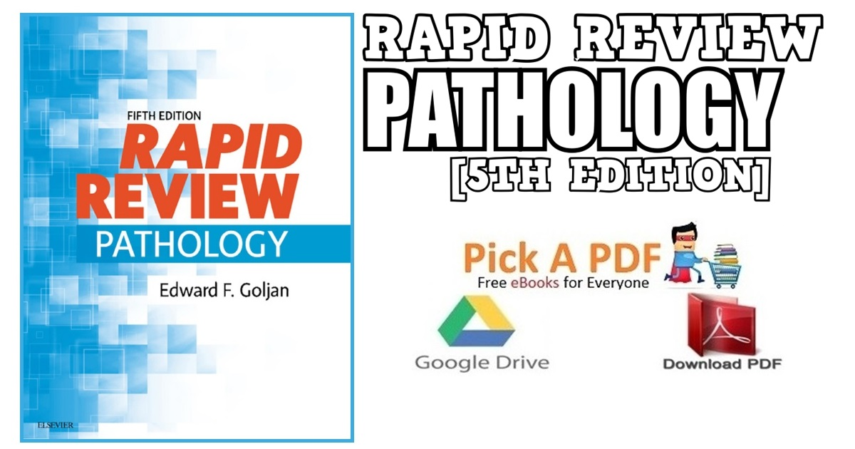Rapid Review Pathology 5th Edition PDF Free Download [Direct Link]