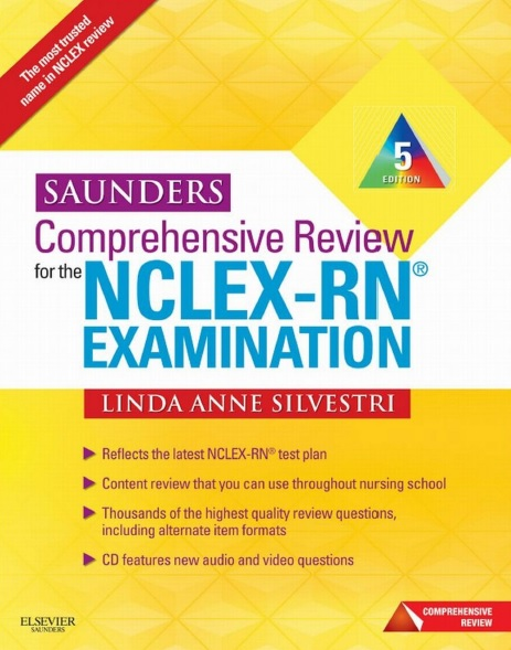 Saunders Comprehensive Review for the NCLEX-RN Examination 5th Edition PDF