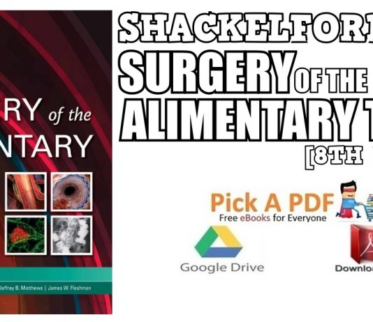 Shackelford's Surgery of the Alimentary Tract 8th Edition PDF
