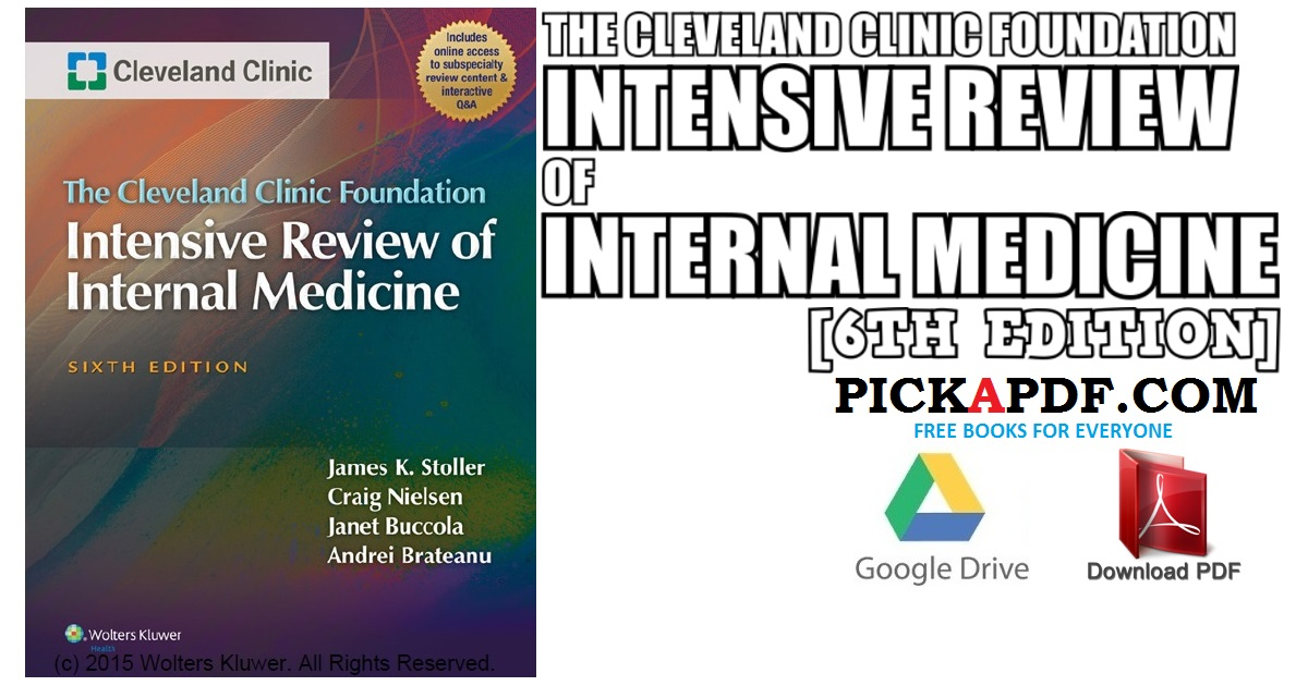 The Cleveland Clinic Foundation Intensive Review of Internal Medicine PDF