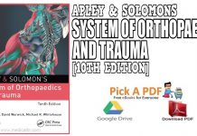 Apley & Solomons System of Orthopaedics and Trauma 10th Edition PDF