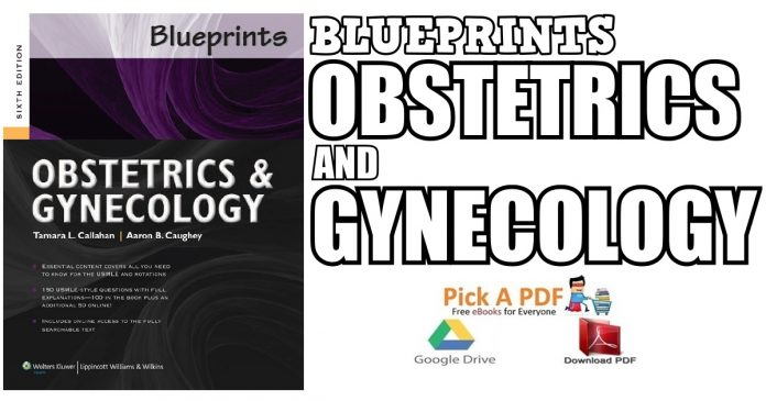 Blueprints Obstetrics and Gynecology PDF