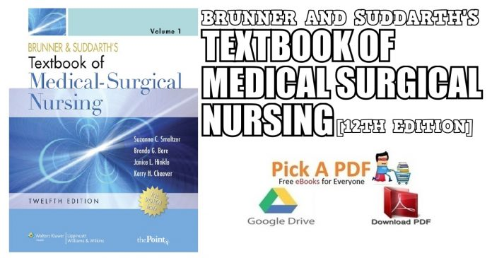 Brunner and Suddarth's Textbook of Medical Surgical Nursing 12th Edition PDF