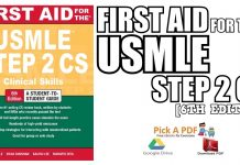 First Aid for the USMLE Step 2 CS 6th Edition PDF