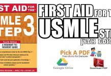 First Aid for the USMLE Step 3, 4th Edition PDF