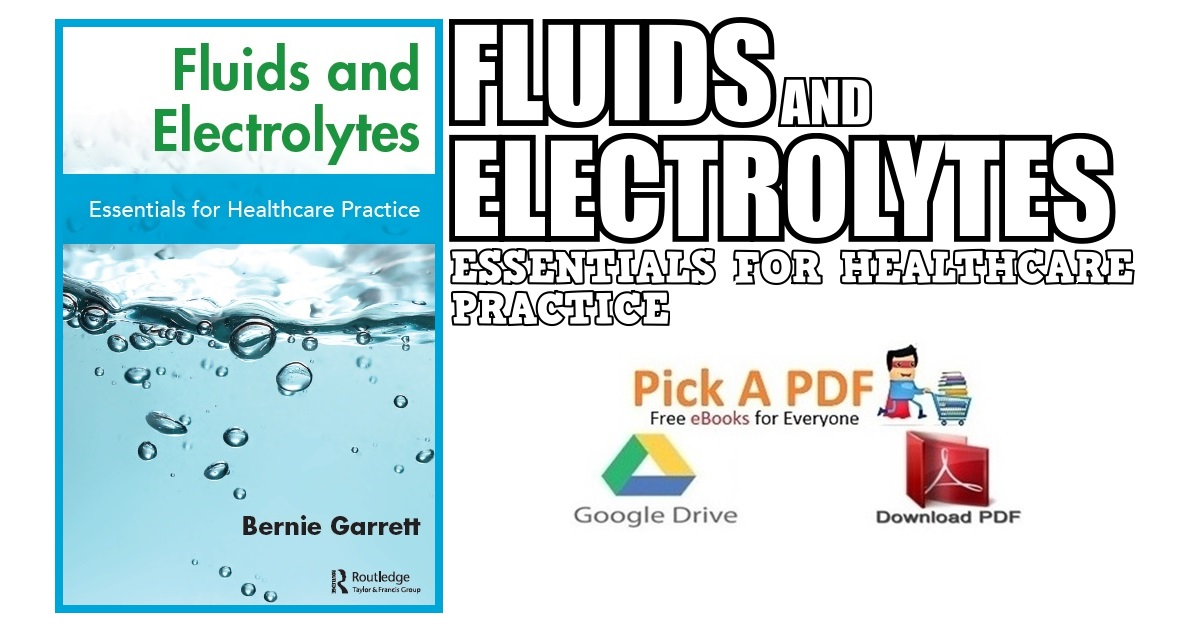 Fluids and Electrolytes: Essentials for Healthcare Practice PDF