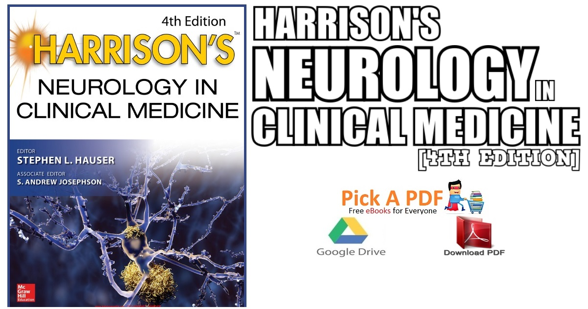 Harrison's Neurology in Clinical Medicine 4th Edition PDF