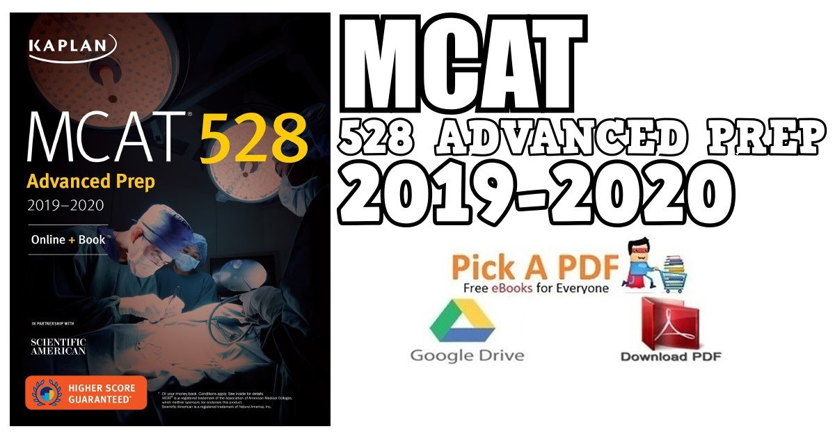 MCAT 528 Advanced Prep 2019-2020 PDF