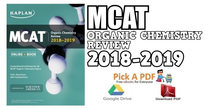 MCAT Organic Chemistry Review 2018-2019 PDF