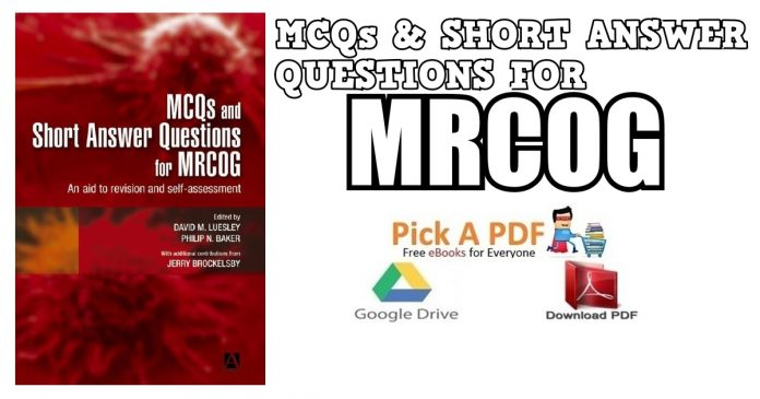 MCQs & Short Answer Questions for MRCOG PDF