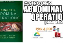 Maingot's Abdominal Operations 12th Edition PDF