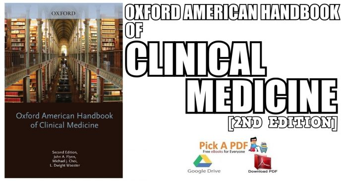 Oxford American Handbook of Clinical Medicine 2nd Edition PDF