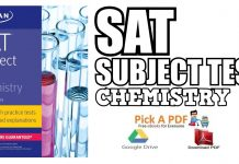 SAT Subject Test Chemistry 10th Edition PDF