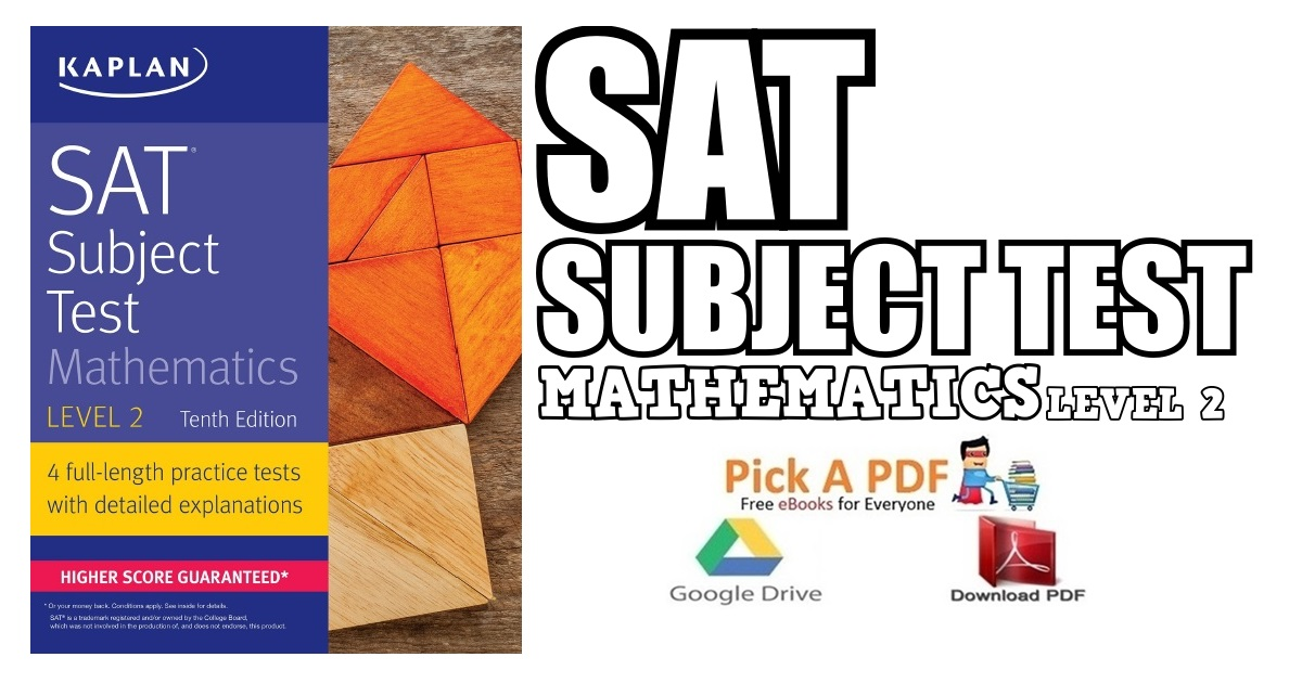 SAT Subject Test Mathematics Level 2 PDF