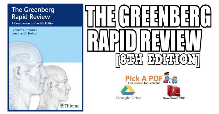 The Greenberg Rapid Review: A Companion to the 8th Edition PDF