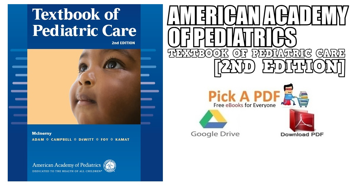 American Academy of Pediatrics Textbook of Pediatric Care PDF