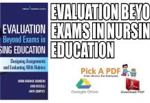 Evaluation Beyond Exams in Nursing Education PDF