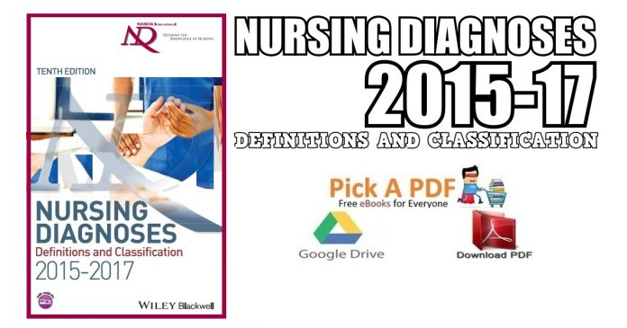 Nursing Diagnoses 2015-17: Definitions and Classification PDF