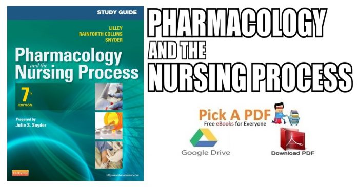 Pharmacology and the Nursing Process PDF