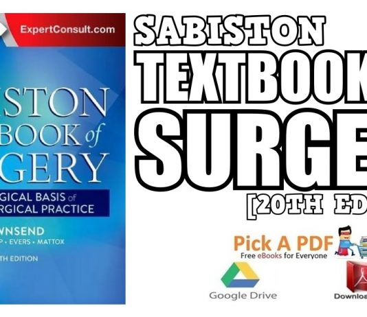 Sabiston Textbook of Surgery 20th Edition PDF