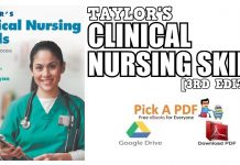 Taylor's Clinical Nursing Skills 3rd Edition PDF