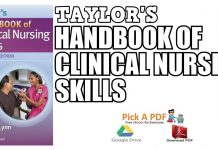 Taylor's Handbook of Clinical Nursing Skills PDF