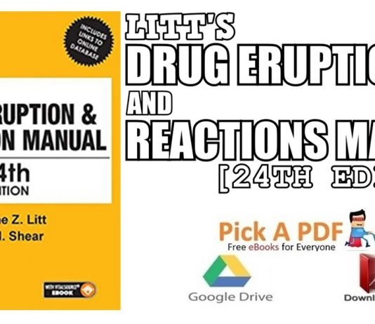 Litt's Drug Eruption & Reaction Manual 24th Edition PDF