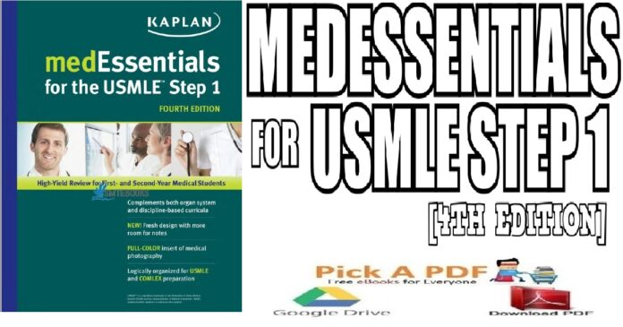 MedEssentials for the USMLE Step 14th Edition PDF